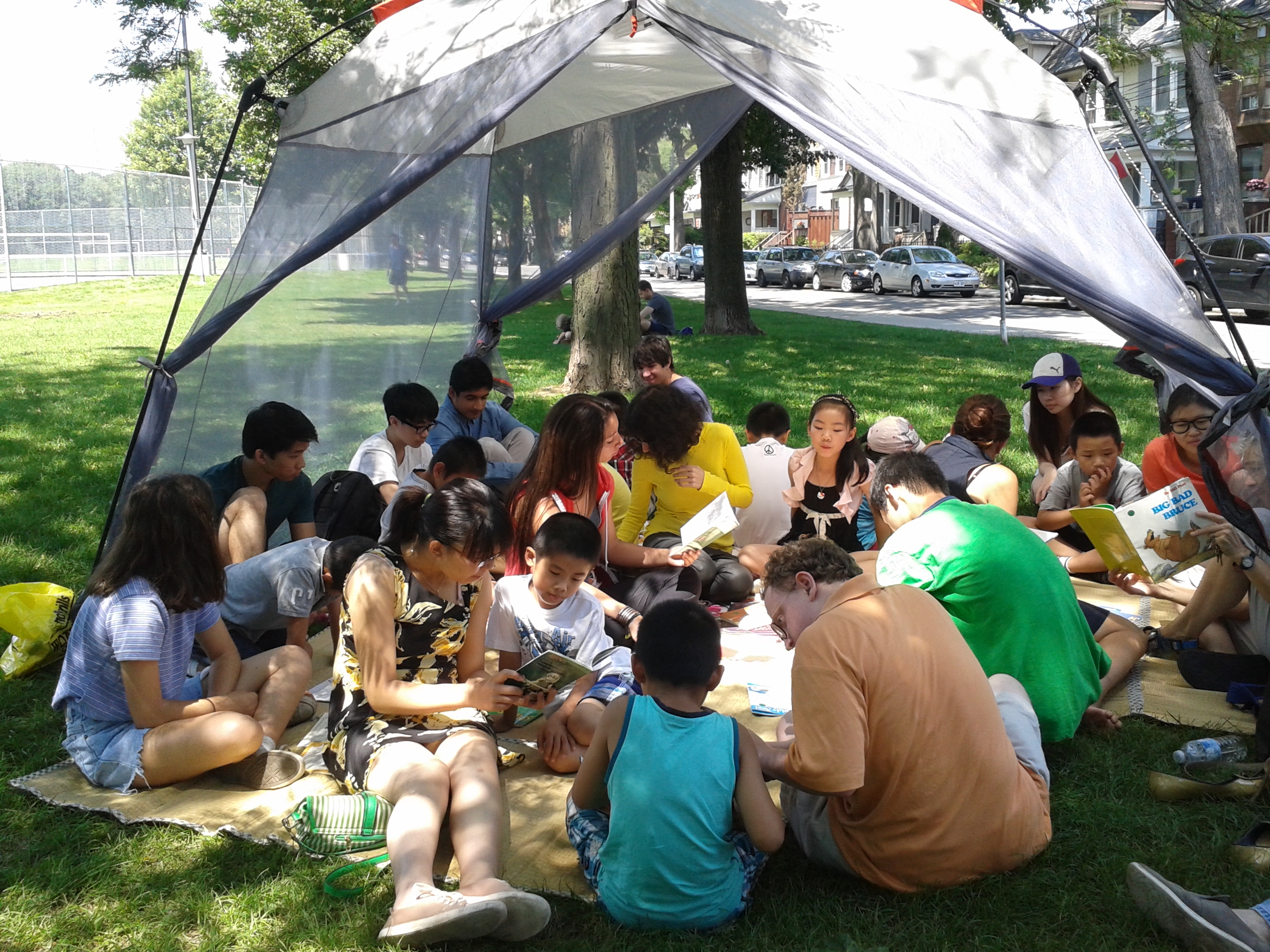Reading Tent & Mentor Program u2013 Ralph Thornton Community Centre